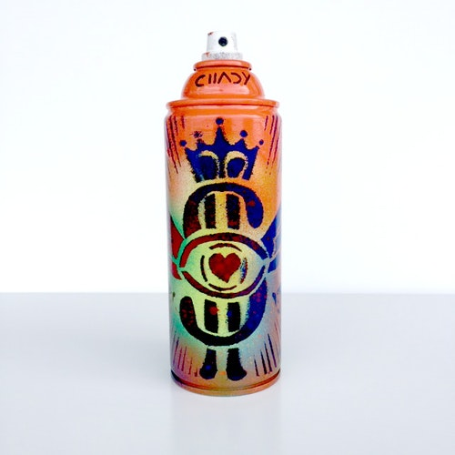 I WANT, I CAN, I WILL - SPRAY PAINT CAN