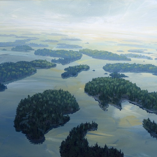 Islands, Lake Of The Woods (South of Crow Rock)