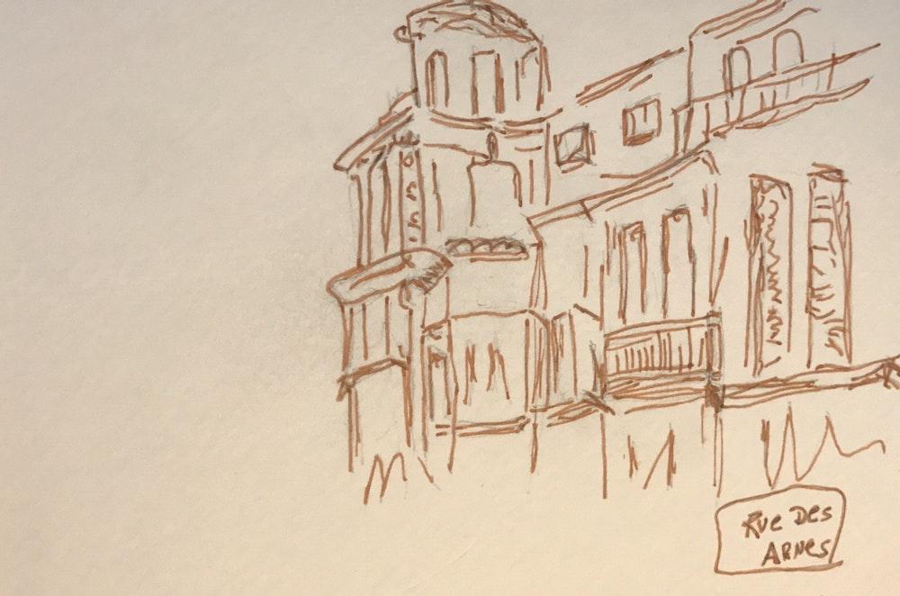Rue de Agnes Aix France