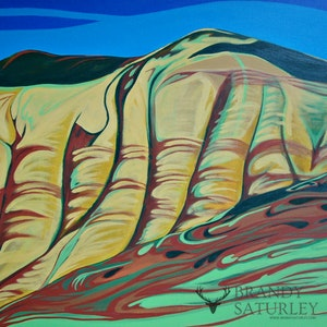 Painted Hills (diptych)