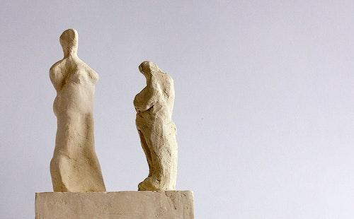 Sculpture - The Conversation - Maquette