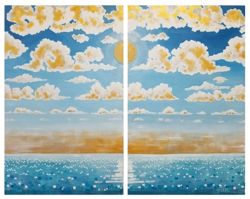 Rise (Diptych)