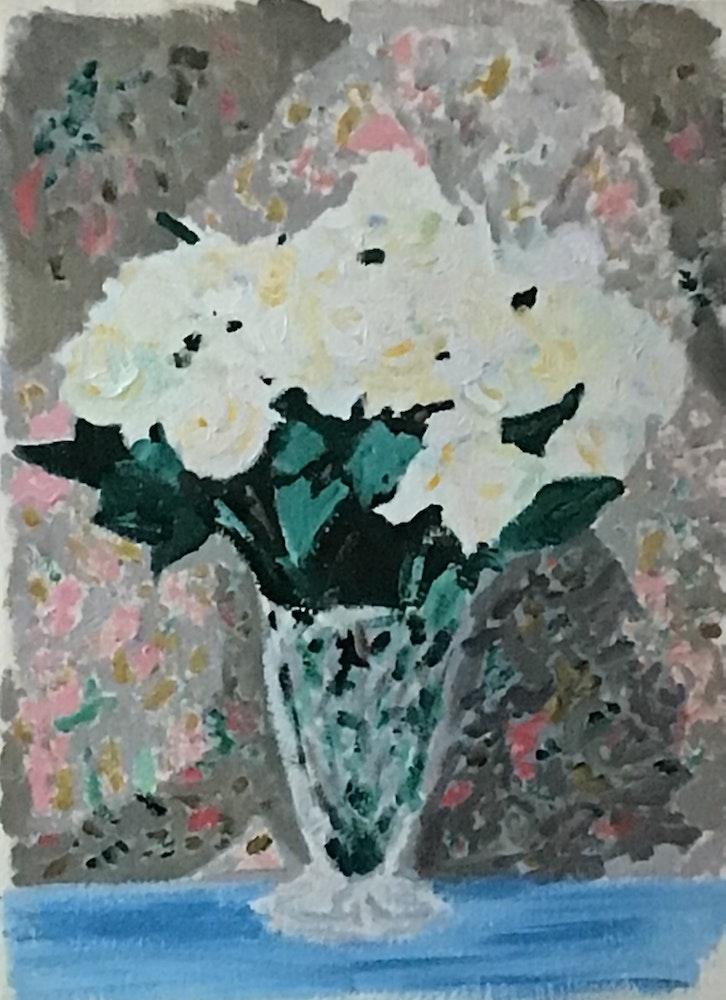 White Roses waiting