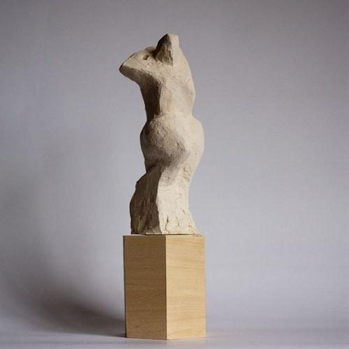 Sculpture - Torso Maquette - Reaching