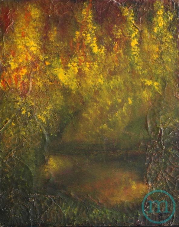 Secret Lake 20 x 16 Sold
