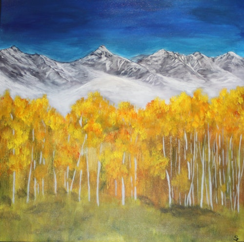 First Dusting 48 x 48 x 1