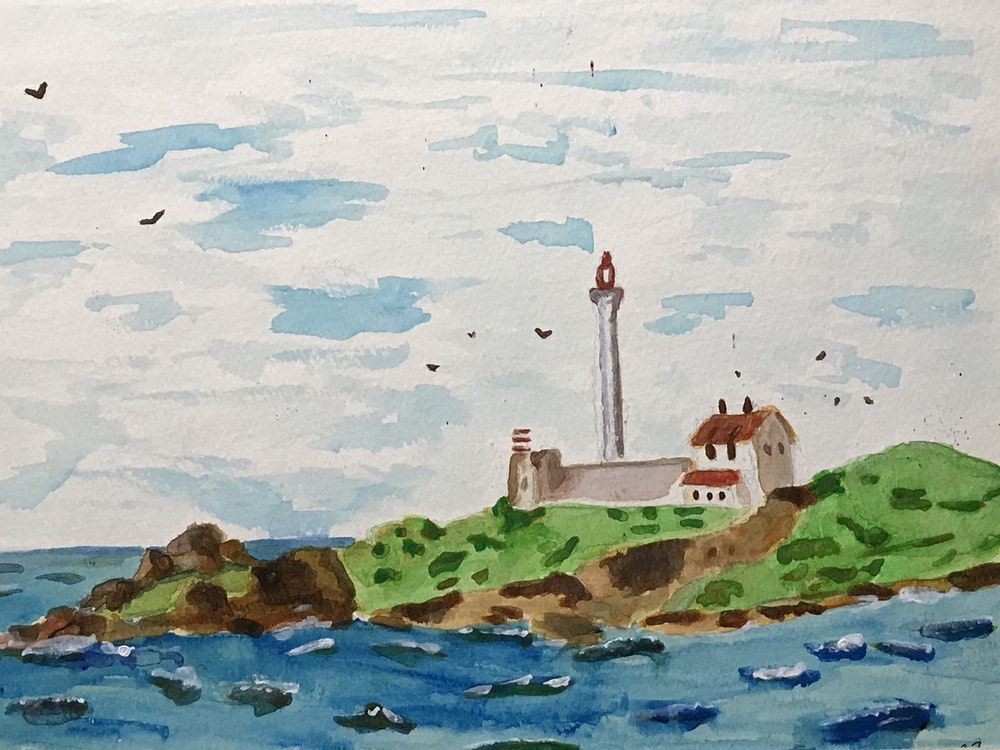 Lighthouse on the Sound