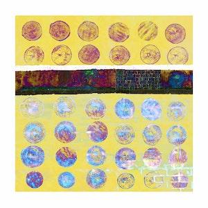 Circles - Variations Orange, Yellow, Blue