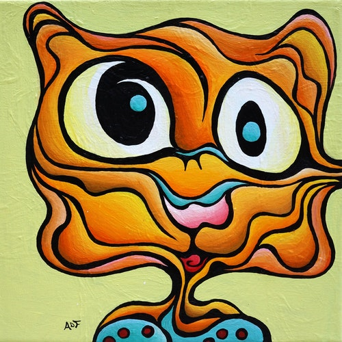 Silent Bob (Snarkle Tart) 5x5 Limited Edition Print