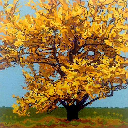 Autumnal Yellow Treet