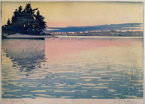 Whitefish Bay, Lake of the Woods 1919
