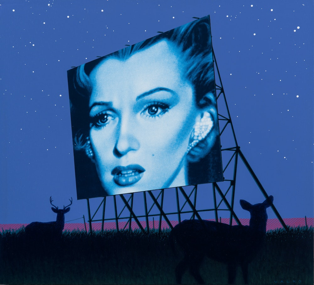 Marilyn Visits The Prairies
