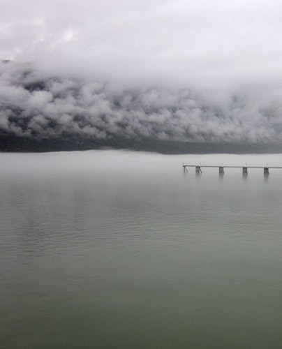 Northern Mist with Wharf
