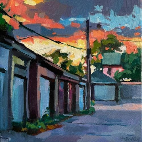 Back Alley Sunset