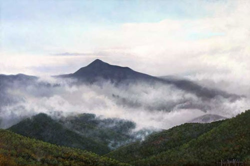 Cold Mountain in the Clouds