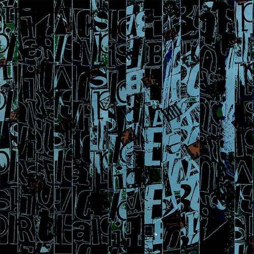 Graffiti Alphabet Blue