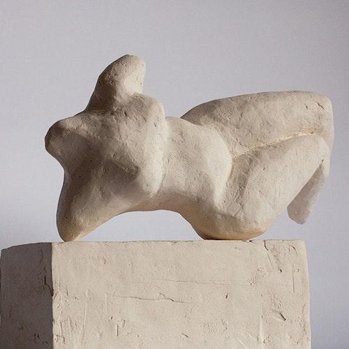 Sculpture - Reclining Figure Maquette
