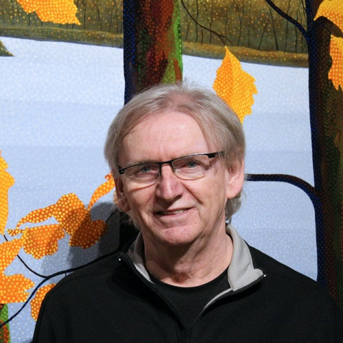 Photo of the artist Peter McConville