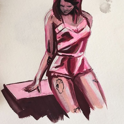 Pretty in Pink - Watercolor
