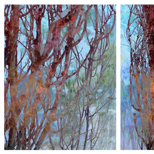 Standing Tall I and II (Diptych)