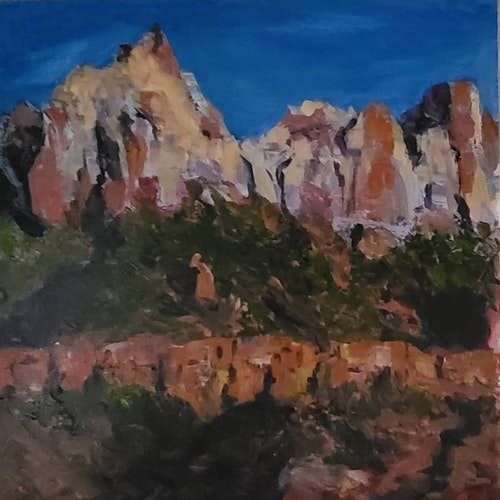 Sunset in Zion 2