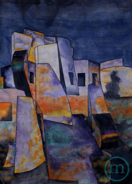 Museum of Modern Art 28 x 22 Framed