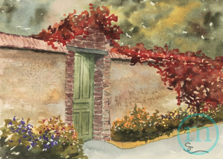 Gate at Giverny