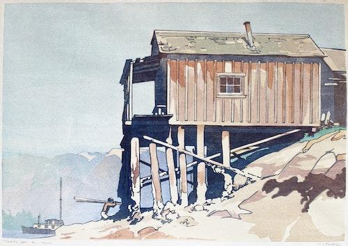 Gerran's Bay, Pender Harbour, British Columbia 1935