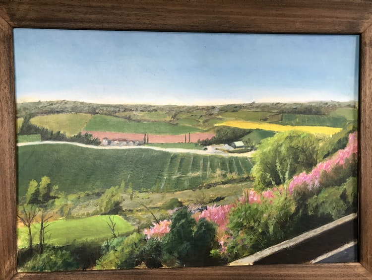 From Castelnau-de-Montmiral, Spring