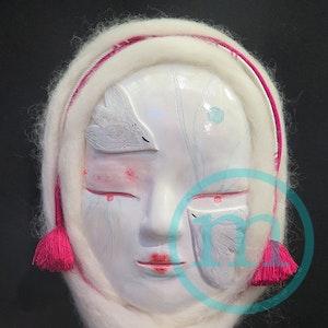 Tori onna, le masque des oiseaux réconfortants - Tori onna, the mask of the comforting birds