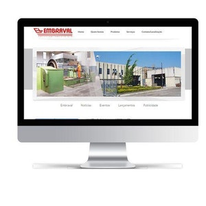 Site Embraval  + Painel php