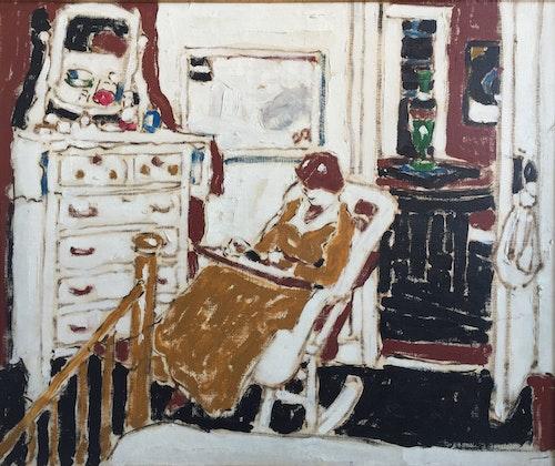 White Bedroom, New York 1914
