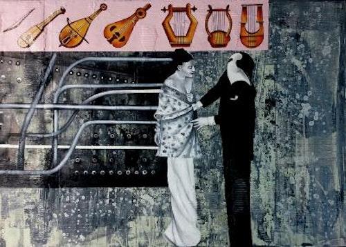 Untitled (Serie: Un pinguino en el mercado del arte)