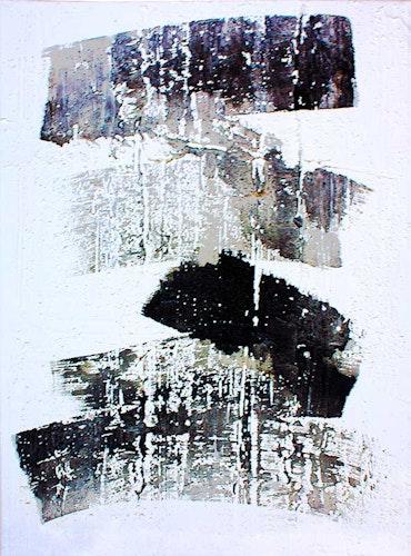 Brush Strokes 1 - Shades of Gray