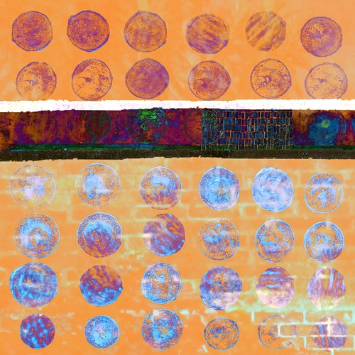 Circles - Variations Orange, Yellow, Blue
