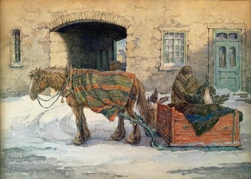 Return from Bonsecours Market c.1925