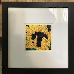 Blossomonious Yellow Trip 7x7 Limited Edition Print 02/25