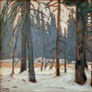 Winter - Algonquin Park c. 1916