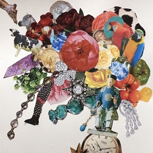 collage with watches