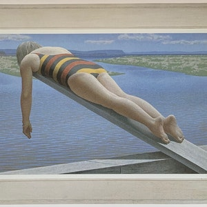 Woman on Diving Board 1989