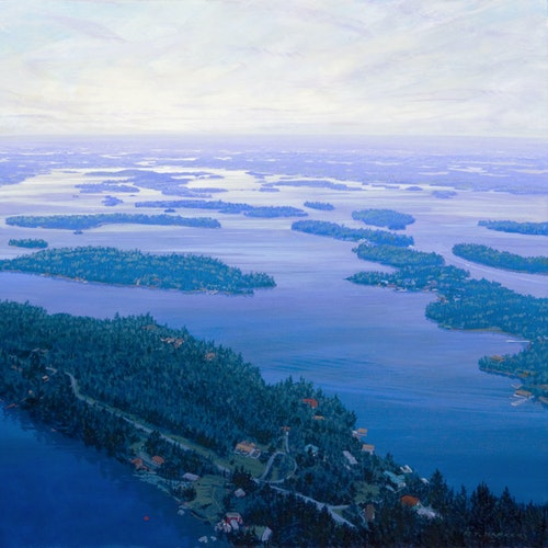Turnbull Island (Looking East Toward Kenora)