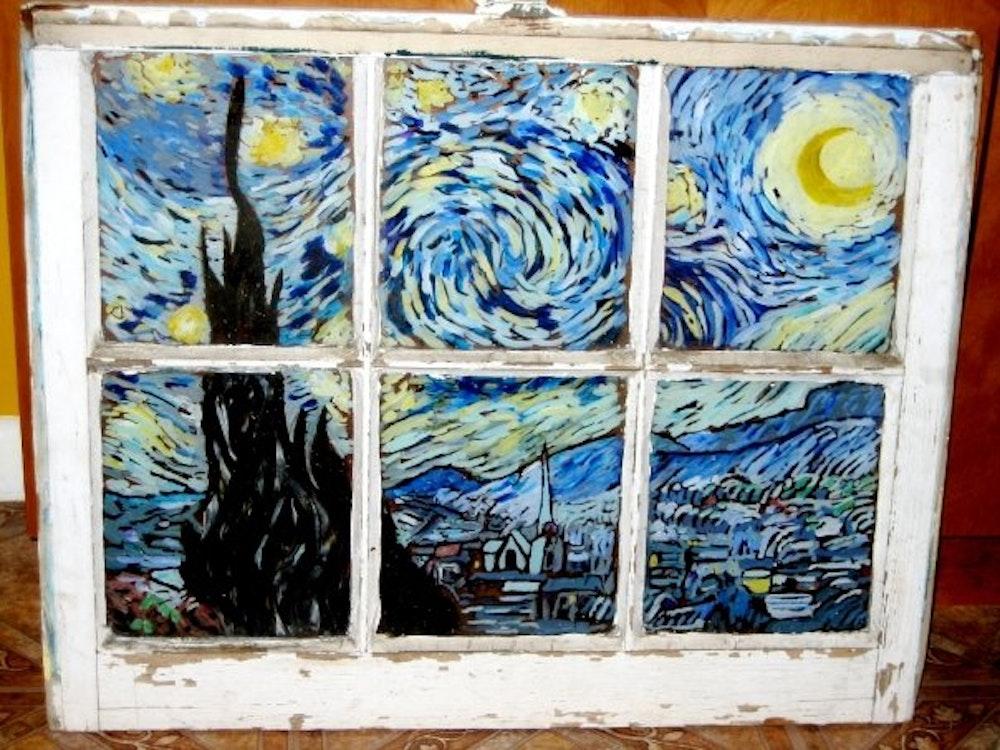 Starry Night (after VanGogh)