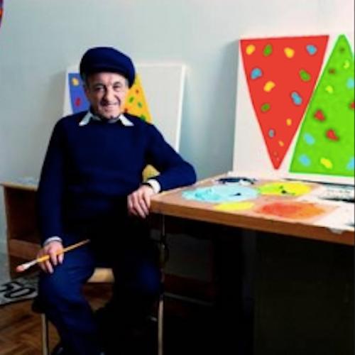 Photo of the artist Gershon Iskowitz