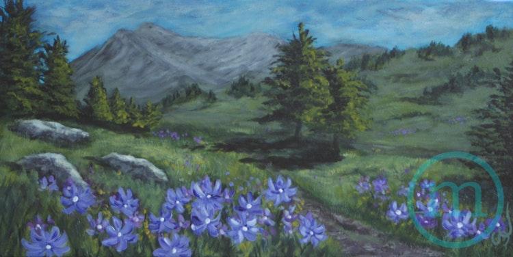 Dakota Ridge in Spring 10 x 20 Sold