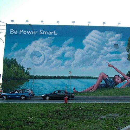 Manitoba Hydro mural