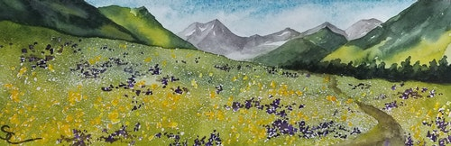 Spring Walk at Crested Butte