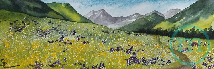 Spring Walk at Crested Butte