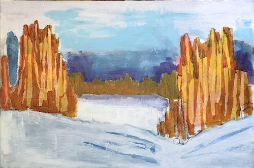 Winter On Longpine Lake
