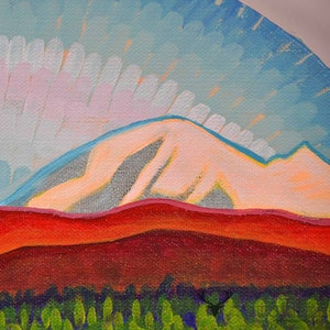 Mt. Baker View - Orange