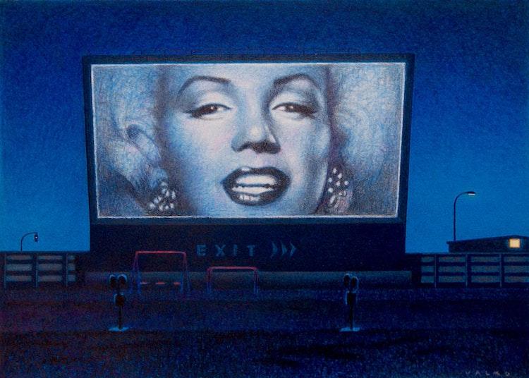 Marilyn (Blue)